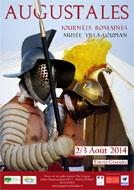 Les Augustales - Journées Romaines - Loupian - Hérault.