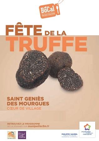 Fête de la truffe - Saint-Géniès des Mourgues - Hérault.