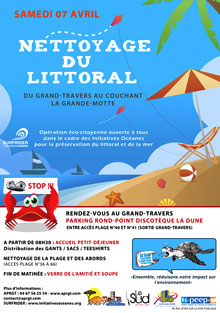 Nettoyage Littoral Grand-Travers Herault