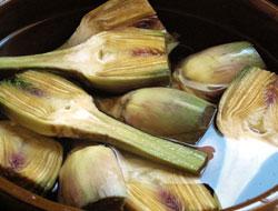 Recette artichauts poivrades grill s cuisine languedoc - Cuisiner les artichauts ...