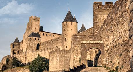 Aude sites touristiques remarquables visite et tourisme escapadeslr - Construire une cite medievale ...