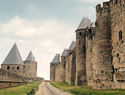 Lices - Remparts Carcassonne