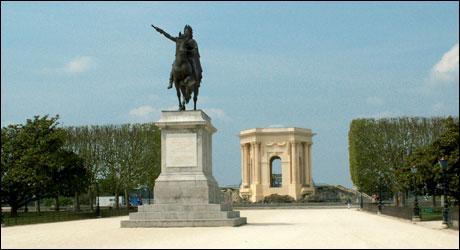 Le peyrou montpellier site touristique h rault escapadeslr - Montpellier office du tourisme ...